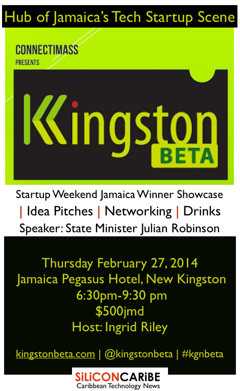 Kingston BETA February 2014 flyer